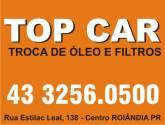 TOP CAR Troca de Oleo e FIltros