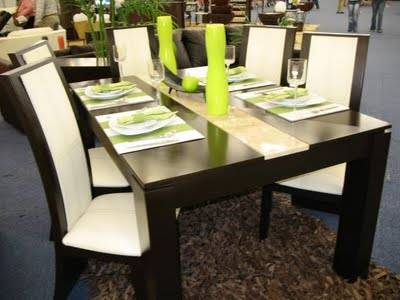Comedor en madera ref 01 cedro for Tapizados modernos para sillas