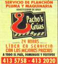 PACHOS GRUAS