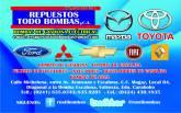 REPUESTOS TODO BOMBAS C.A