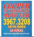 COOPER SCORPION MOTO TAXI