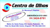 CENTRO DE OLHOS Dr. Marcelus S. Baptista