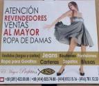 ROPA AL MAYOR DE DAMA EL MAYOR PROFETA C.A.