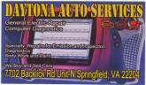 DAYTONA AUTO SERVICES