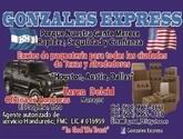 GONZALES EXPRESS envios para toda Honduras