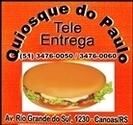 QUIOSQUE PAULO TEL ENTREG 34760050 XIS ALMÔÇO MATHIAS CANOAS