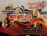 INVERSIONES BETO MOTO'S, C.A.