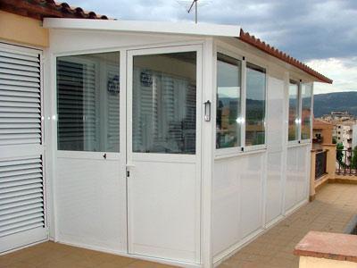 Carpinteria aluminio mallorca palma de mallorca - Cerramientos de aluminio para porches ...