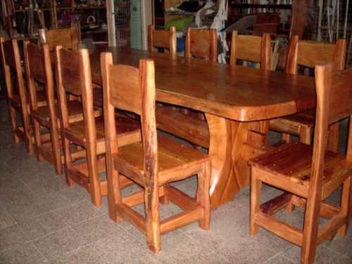 Arte rustico alta gracia maderas mesas carteles tallados for Muebles balbin infiesto