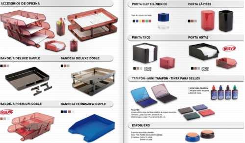 Utiles escolares y de oficina artesco lima fabricacion de for Accesorios de oficina