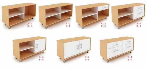 Muebles para almacenamiento